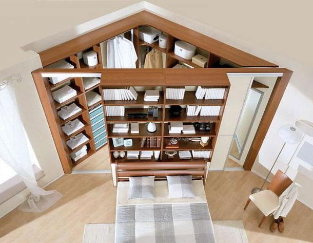 Шкаф-купе для просторной спальни