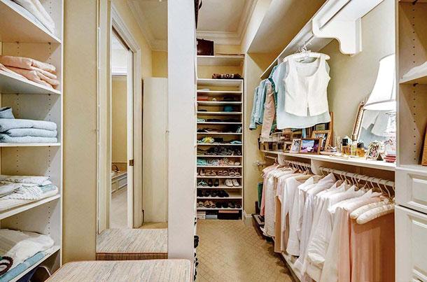 Фото стильной гардеробной