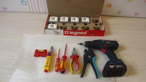 Подготовка необходимых для работы материалов и инструментов