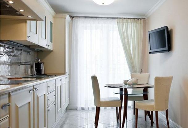 Рекомендуемая высота для телевизора на стене в кухне