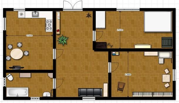 Онлайн планировка квартиры