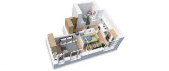 Онлайн планировка комнаты