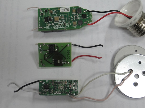 Ремонт драйвера светодиодной лампы