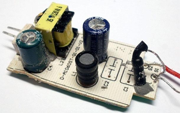 Светодиодные лампы ремонт своими руками