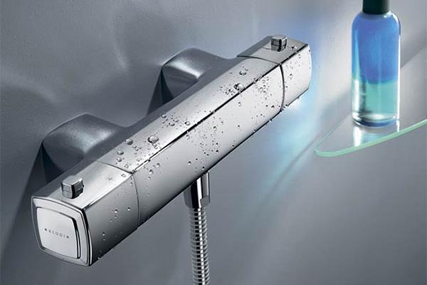 Смесители с терморегулятором для ванной