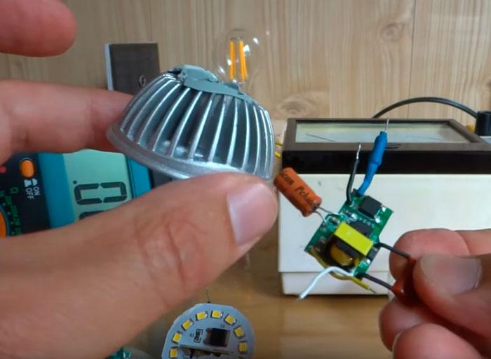 радиатор для отвода тепла